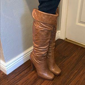 Jessica Simpson Yana Leather Boots